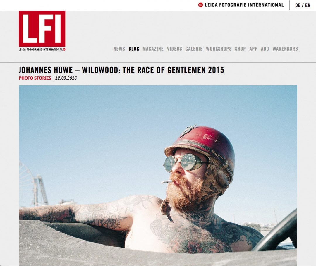 """""""The Race of Gentlemen"""" story today at LFI"""