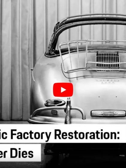 Porsche Presents: Analogue Never Dies